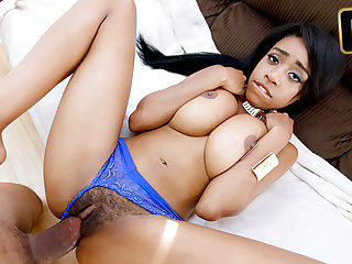 Brittany White in Natural Brown Beauty - TeenyBlack