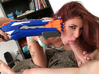 Ashlyn Molloy in Naughty Girlfriend Loves to Play - IKnowThatGirl