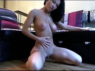 Horny Teen Cam - Perfect Body Rides Huge Dick