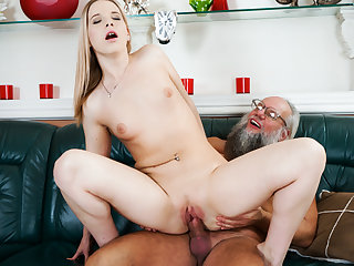 Kiara Night & Albert in Bang Me Grandpa - 21Sextreme