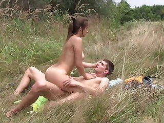 Horny pornstar in hottest outdoor, european adult scene