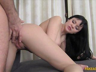 Horny pornstar in Amazing Brunette, Anal xxx scene