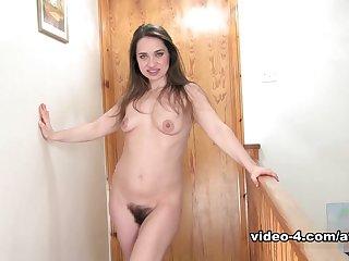 Incredible pornstar Patrizia Berger in Fabulous Hairy, Solo Girl xxx clip