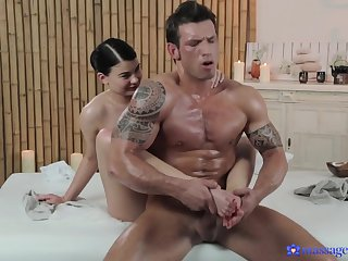 Hottest pornstars Lucy Li, The Body XXX, Small Hands in Best Massage, Cumshots porn clip